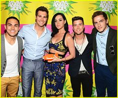 Big Time Rush & Katy Perry - Kids' Choice Awards 2013 Red Carpet