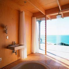 cuarto de baño en madera