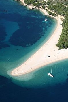 Zlatni Rat is by far and away Croatia's most beautiful and unique beach and was just named #3 in Europes Best Beach Destination.
