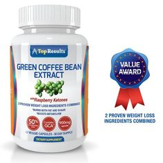 Pure Green Coffee Bean Extract 800mg Pills, GCA® - Beauty Shopping Pro : Top Skin Care Products - WeightLoss Products