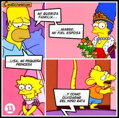 Los Simpsons en español niño rata