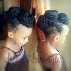 Magnificent Pin By Say Smith On Kiddy Hairdos Cuts Pinterest Short Hairstyles For Black Women Fulllsitofus