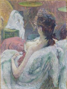 Henri de Toulouse-Lautrec - The Model Resting, 1889.