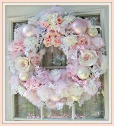 Olivia's Romantic Home: Pink Christmas in July