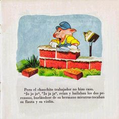 Cuentos infantiles: Los tres cerditos. Cuento ilustrado. Grinch, Three Little Pigs, Books, Reading Books, Infant Learning Activities
