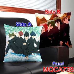Free!  Kissen Manga, Anime, Free, Ebay, Shop, Dragonball Z, Chair Pads, Dekoration, Manga Anime