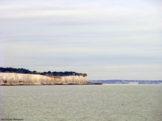White cliffs of Dover, as seen during my 2009 trip out of the seaport.