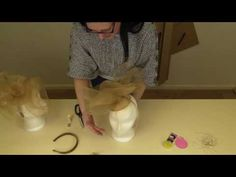 How to create a Crin fascinator - Isla kit instructions - YouTube