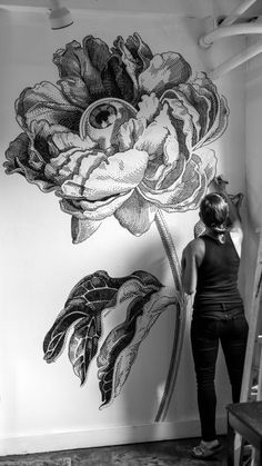 11 Best Wall Drawing Images Wall Drawing Wall Wall Murals