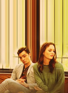 Ed Westwick and Leighton Meester / Chuck Bass and Blair Waldorf. Gossip Girl Chuck, Gossip Girls, Mode Gossip Girl, Gossip Girl Quotes, Gossip Girl Fashion, Chuck Bass, Blair Waldorf, Vanessa Abrams, Nate Archibald