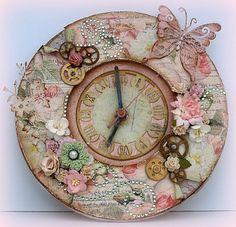ornate clock Dream World face book