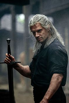 """New still of Henry Cavill as Geralt of Rivia in Netflix's """"The Witcher"""" The Witcher Geralt, Witcher Art, Witcher Wallpaper, Charles Brandon, Shadowhunters, Henry Williams, Shows On Netflix, Man Of Steel, Film Serie"""