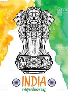 Find Lion Capital Ashoka Indian Flag Color stock images in HD and millions of other royalty-free stock photos, illustrations and vectors in the Shutterstock collection. Thousands of new, high-quality pictures added every day. Indian Flag Wallpaper, Indian Army Wallpapers, Navy Wallpaper, Watercolor Wallpaper, Mobile Wallpaper, Independence Day Images, Independence Day India, National Flag India, Special Forces