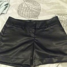 NEW! EXPRESS BLACK SATEEN SHORTS! 2 New without tags, never worn at all!  Gorgeous shorts, just too big on me, so I wasn't able to wear them this past summer!  They are very nice!!! You will love these! Express Shorts Cargos