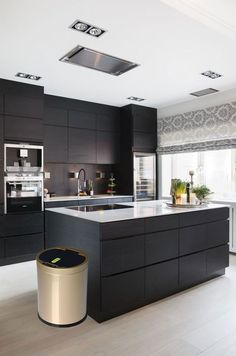 Looking for luxury kitchen design ideas? Take a look at our leading 63 favorite instances of seriously elegant luxury kitchens and unique. Black Kitchens, Luxury Kitchens, Home Kitchens, Small Kitchens, Kitchen Black, Dream Kitchens, Beige Kitchen, Distressed Kitchen, Beautiful Kitchens