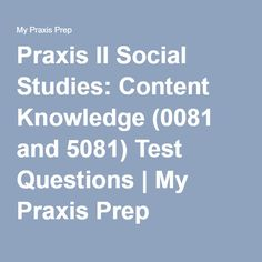 middle school social studies praxis essay questions Each comes with the 240tutoring guarantee and a 48 hour no-questions-asked middle school science middle school social studies middle school science praxis.
