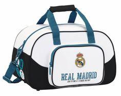 Real Madrid History - Sporttas - 40 cm - Wit  #premierleague #voetbal #laliga #voetbalkids #cadeau
