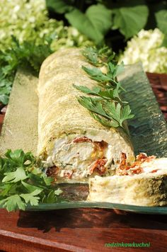Fresh Rolls, Starters, Zucchini, Food And Drink, Healthy Eating, Vegetarian, Tasty, Healthy Recipes, Meals