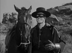 Guy Williams in an episode of Disney's Zorro. He was my first celebcrush ever! Oh, I had a serious crush on him for years! ... Well, I still love him, to be honest ........