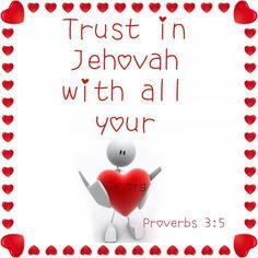 Proverbs 3:5. Visit JW.org.