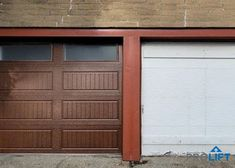 """By choosing new faux wood garage doors to replace their old wood garage doors, these homeowners upgraded the style of their house. Made from premium steel, the new doors brings the warmth of wood to the exterior without the maintenance hassles of solid wood. Check out our popular article, """"Why Homeowners Choose New Garage Doors That LOOK Like Wood"""" by ProLift Garage Doors of St. Louis Blog 