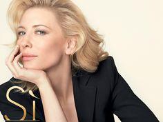 Cate Blanchett en la nueva campaña del perfume Sí de Giorgio Armani