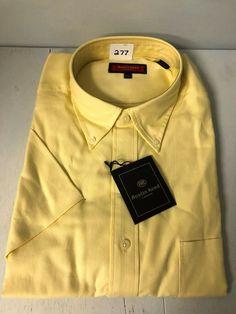 49980edd XL Austin Reed London NEW Short Sleeve Button Down Oxford Shirt - 100%  Cotton #