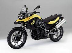 F 650GS (800cc) Sun Yellow, 2012