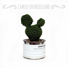HONEY BUNNY - Handmade cactus by CharlesinNeedleland on Etsy