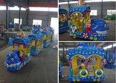 Beston Ocean theme trackless train for sale