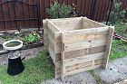 How to make an adjustable garden bed box