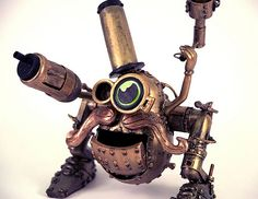 That right there is a Steampunk Mr. Potato Head. ... Awesome.