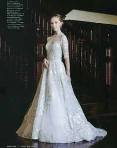 The Charlotte gown featured in Juno Weddings. @isabellearmstrong #weddings #weddinggowns #weddingdress #bride #bridal #bridalgown #bridaldress #lace #CharlotteGown #magazine