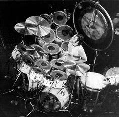 Premier Drum Sets   photo kieth moon