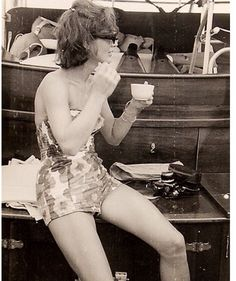Jacqueline boating