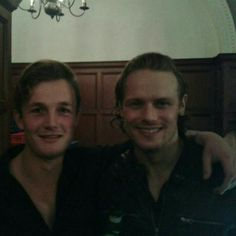 Sam and his body-double