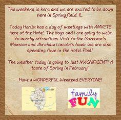 #Springfieldroadtrip, #WinterFun, #soblessed, #AMVETS, #weekend