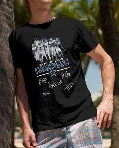 Champion 2018 NFC east division Dallas Cowboys shirt b42da1753