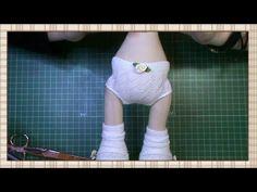 Tutorial muñeca de comunión: Braguitas y top del vestido - YouTube