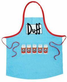 Die Simpsons Duff Beer Grillschürze