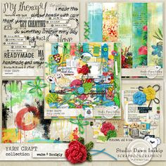 YARN CRAFT COLLECTION Studio Dawn Inskip at Scrapbookgraphics On offer for a limited time!! http://shop.scrapbookgraphics.com/Yarn-Craft-Collection.html