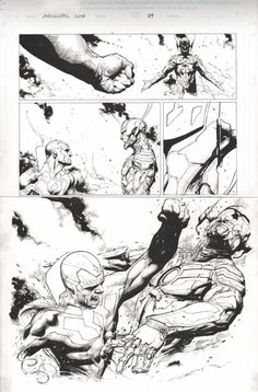 Rage of Ultron Pg 89 Comic Art