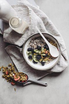 Recette Oatbox de bol déjeuner au quinoa et fruits