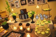 mesa aniversário de 40 anos by www.partyinc.com.br