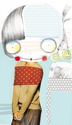 Silvia Pavarini is an Italian illustrator whose artwork typically portrays young girls with big eyes.