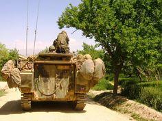 Dutch YPR-765 in Afghanistan.