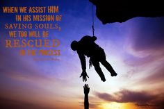 """LDS General Conference. Elder Wong: """"When we assist Him in His mission of saving souls, we too will be rescued in the process."""" #ldsconf #lds #quotes Lds Conference, General Conference Quotes, Lds Memes, Lds Quotes, Quotable Quotes, Missionary Quotes, Lds Seminary, Jesus Christ Quotes, Lds Church"""