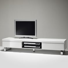 Sydney Lowboard Tv Stand In High Gloss White 48900w
