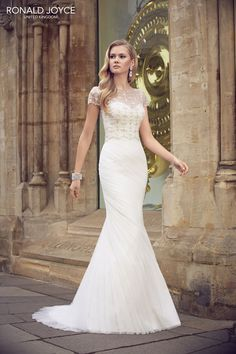 Raffaella from the Ronald Joyce 2015 collection! Check out the rest of the wedding dresses here...