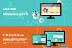 Responsive and Web Design by robuart on Creative Market